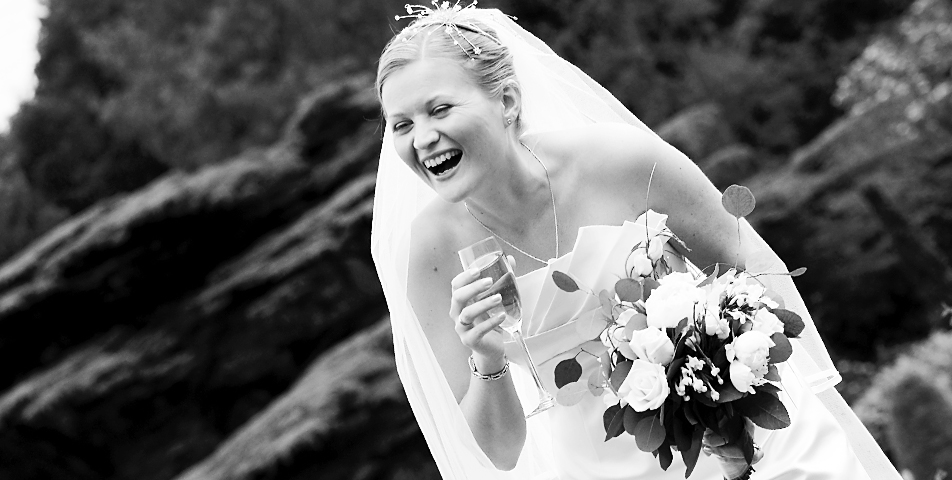 Black and white wedding photography of the bride at Tatton Hall Cheshire