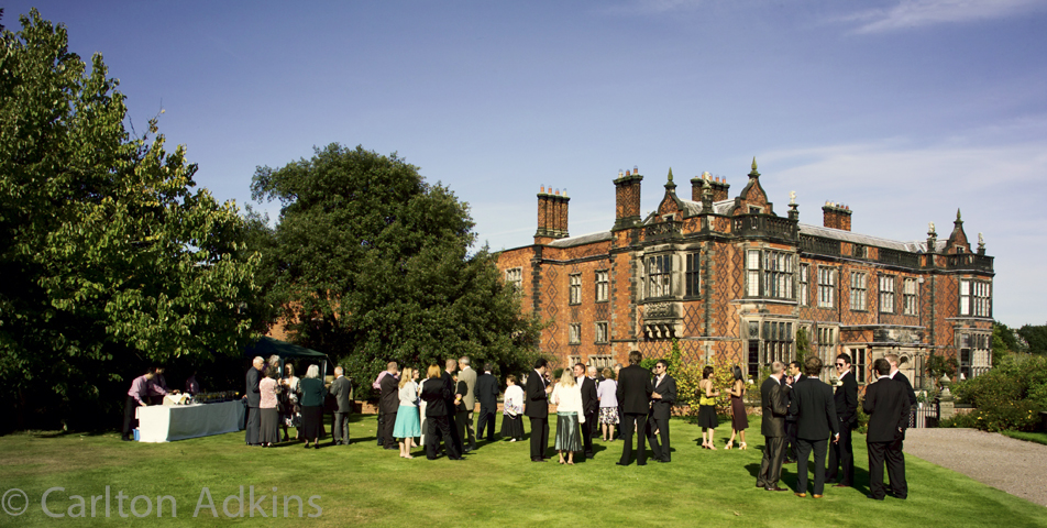The wedding Venue Arley hall in Cheshire