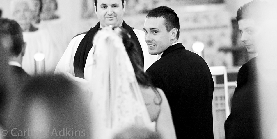 Photography Of The Grooms First Look At The Bride When She