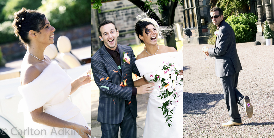 wedding photography at Arey Hall in Cheshire