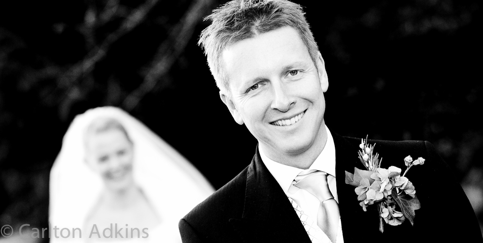 photography of the groom at Rowton Hall Wedding Venue