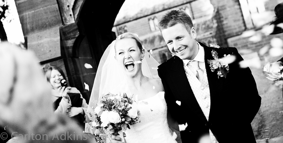 photography of the wedding in chester