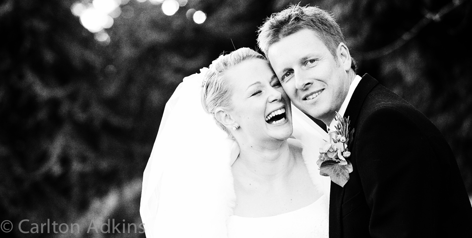wedding photography of the bride and groom Rowton Hall Chester