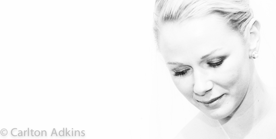 wedding photography of the bride in chester