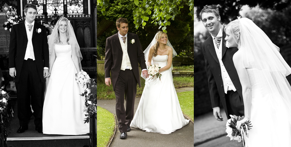 """wedding photography in boliington church cheshire"""