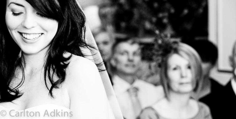 black and white wedding photography Arley Hall Cheshire