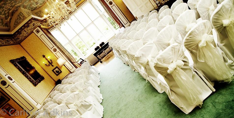 civil wedding at Arley Hall Cheshire