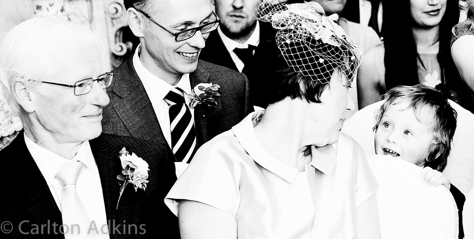 photography of the wedding guests at Arley Hall cheshire