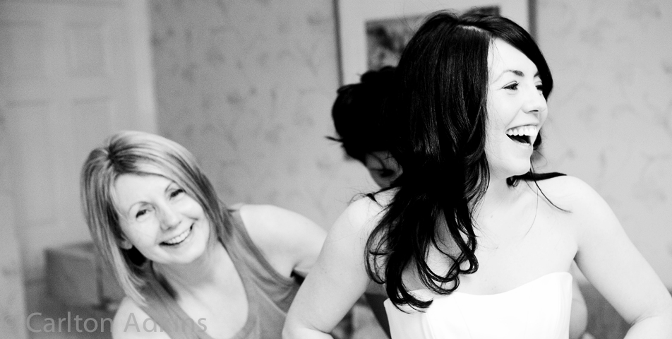 photography of the bride at Arley Hall wedding venue