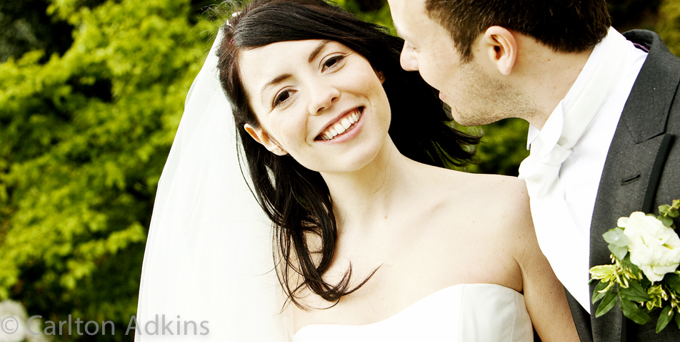 photography of the wedding couple at Arley Hall Cheshire