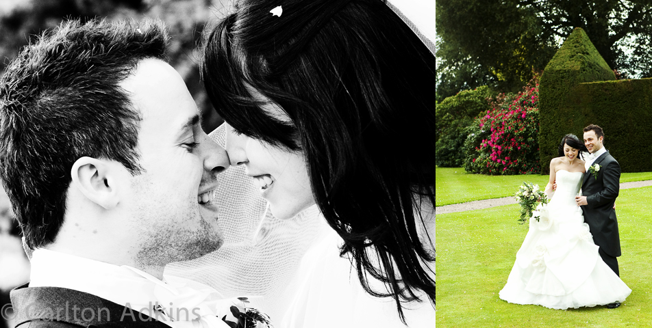 relaxed and informal wedding photography at Arley Hall Cheshire