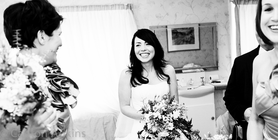 the bridal suite at Arley Hall wedding venue
