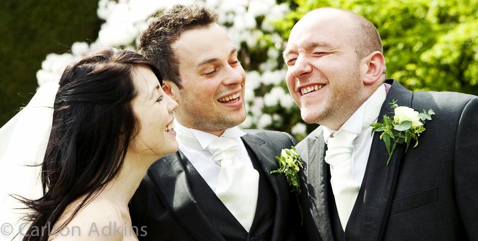 wedding group shots at Arley Hall Cheshire