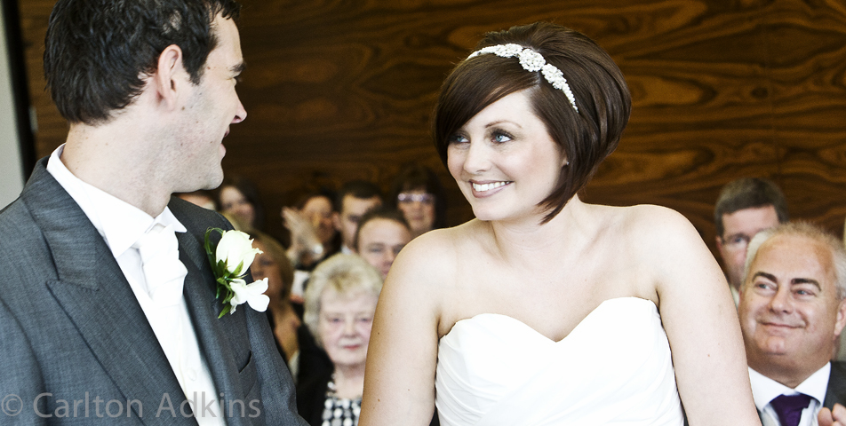 photography of the bride and groom at the cheshire wedding venue