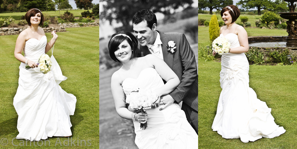 relaxed and informal wedding photography at rookery hall cheshire