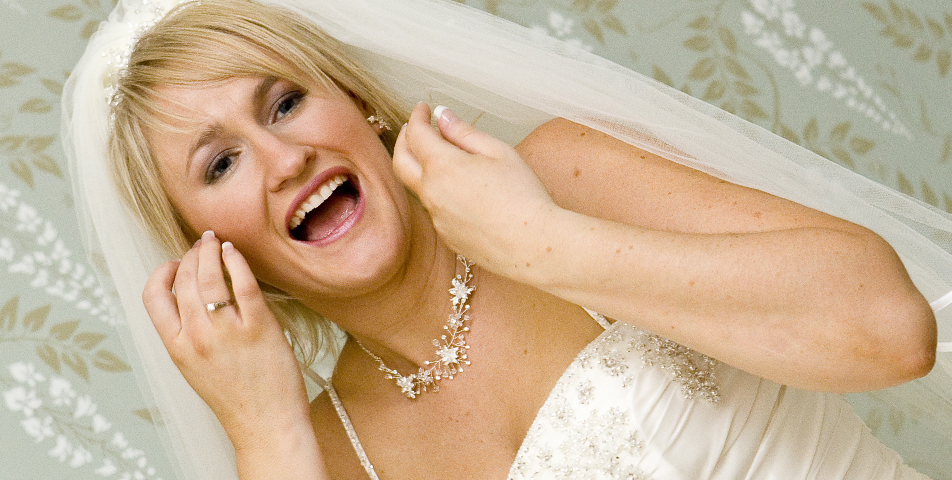 """relaxed reportage style wedding photography of bride at Ringwood Hotel Derbyshire"""