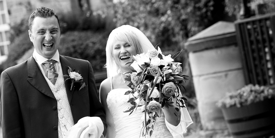 """""""candid wedding photography of bride and groom derbyshire"""""""