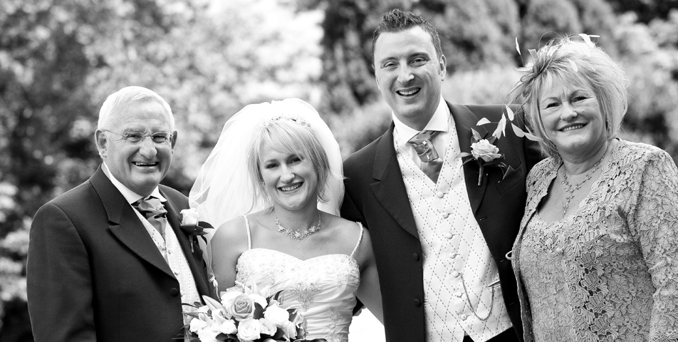 """reportage wedding photography of wedding party at the ringwood hotel derbyshire"""