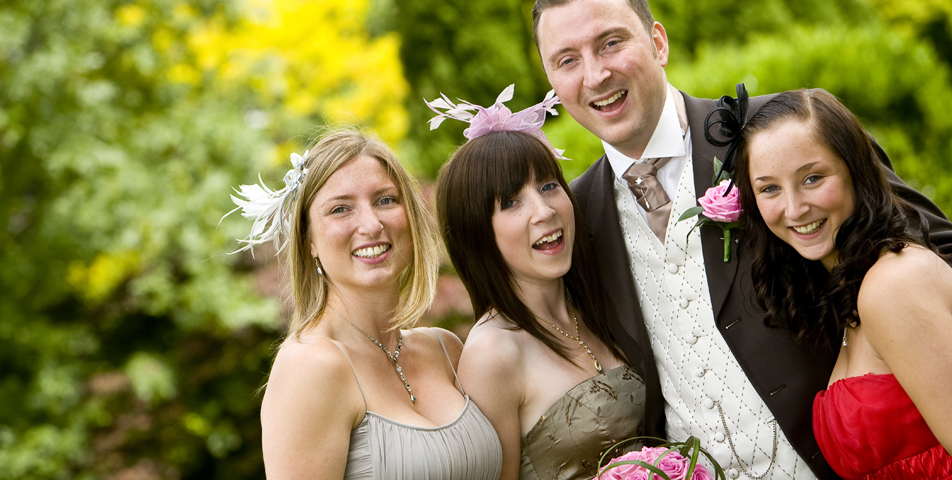 """candid group shots by wedding photographer derbyshire"""