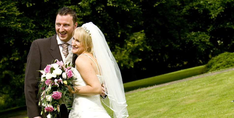"""the bride and groom wedding photography derbyshire"""