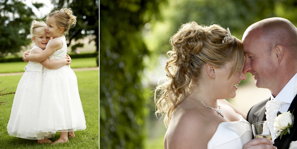 """relaxed informal wedding photography at staplefordpark hotel Leicestershire"""