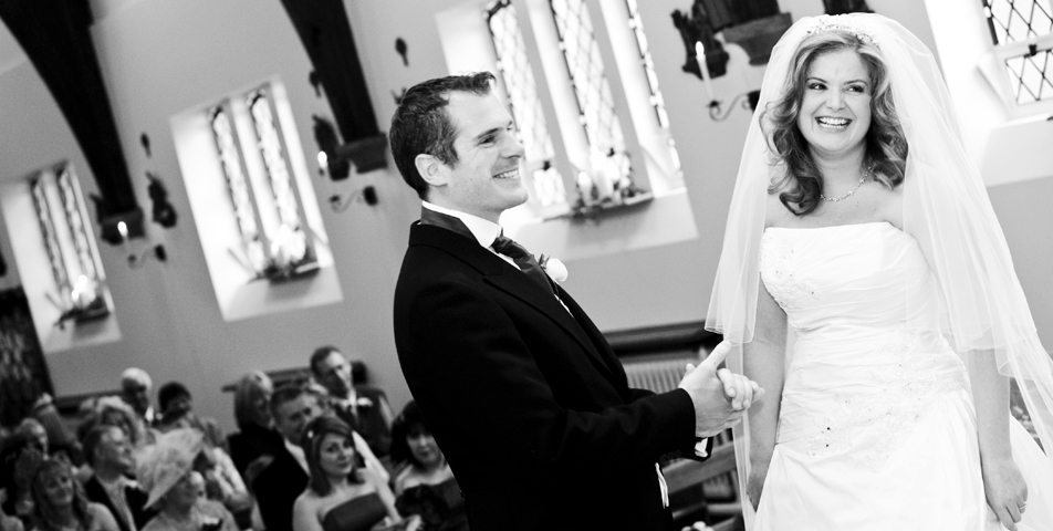 """photography of church wedding ceremony in Bollington Macclesfield Cheshire"""