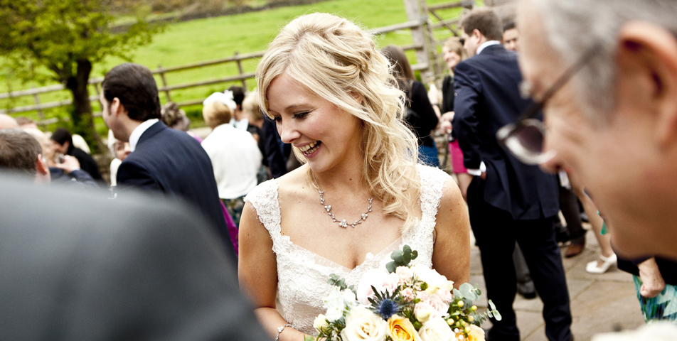"""reportage wedding photography of the bride at the ashes staffordshire"""