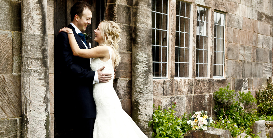 """""""bride and groom at the ashes staffordshire"""""""
