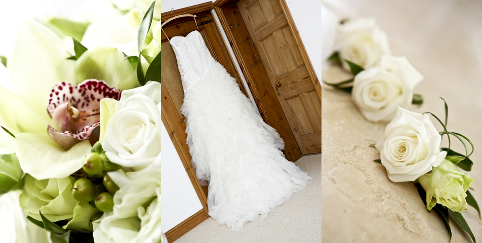 Photography of the wedding flower shop in Yoxall village Staffordshire