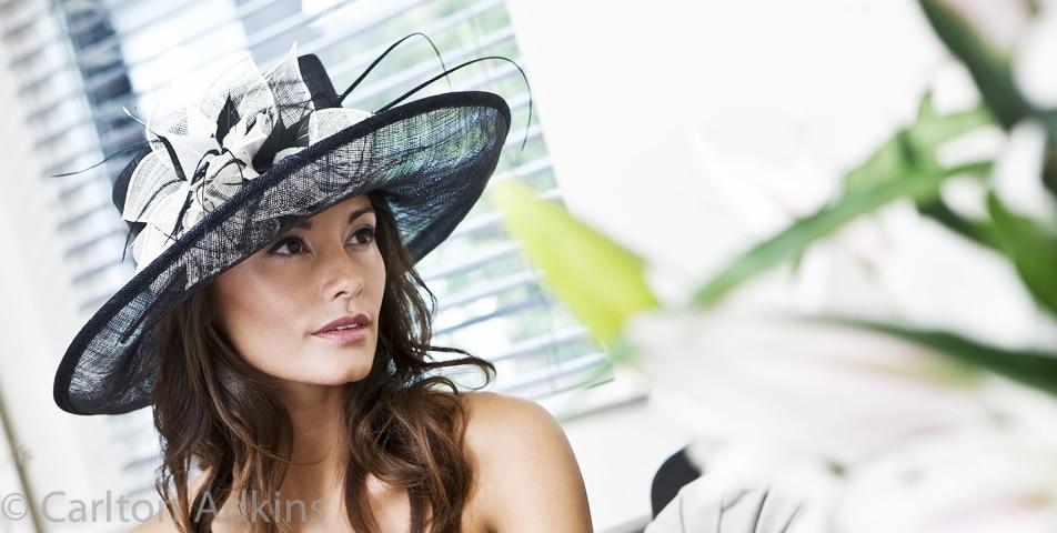 Wedding hats fashion photography