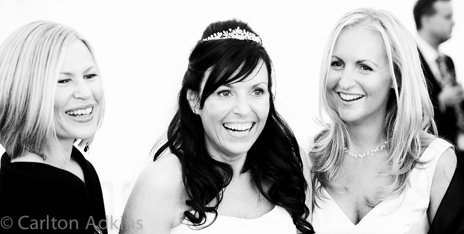 photography of the bride at the wedding reception in knutsford cheshire
