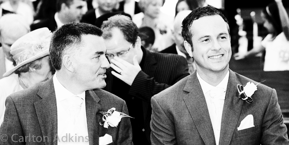 photography of the wedding ceremony at knutsford cheshire