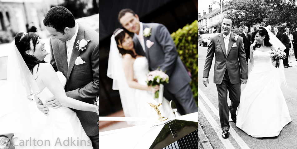 the bride and groom captured by the knutsford wedding photographer in cheshire