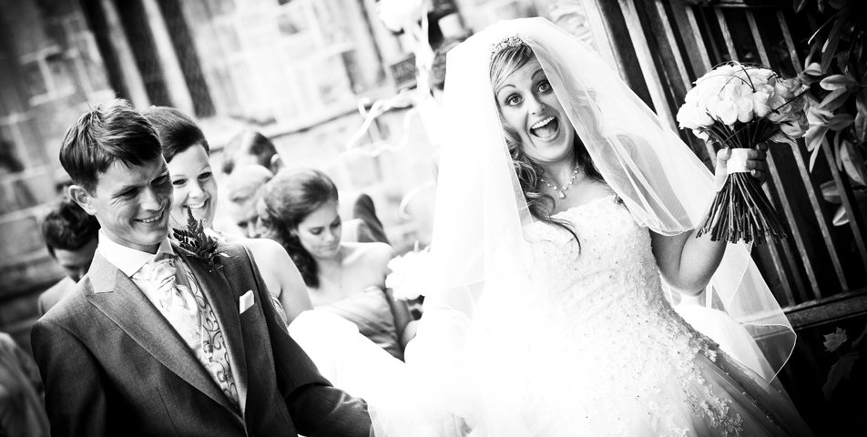 photography of the wedding ceremony in cheshire