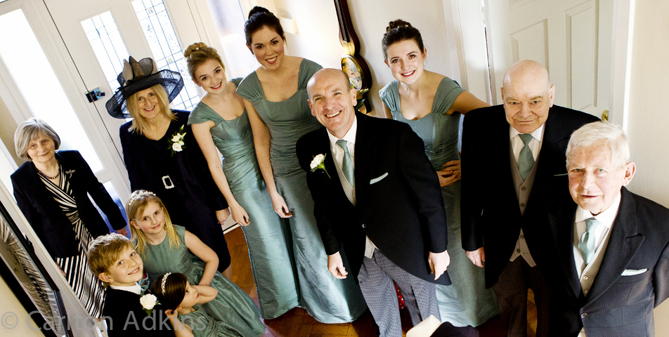 the bridal party in cheshire