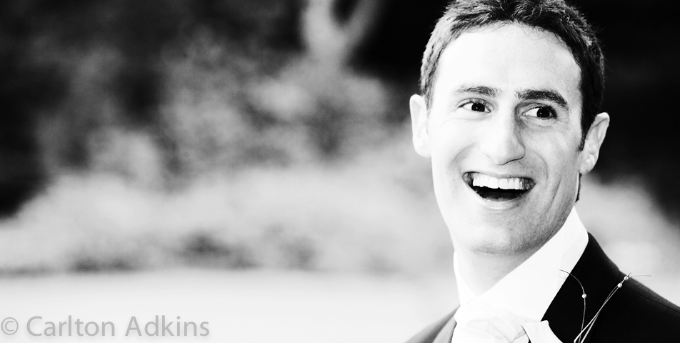 the groom at storrs hall wedding venue