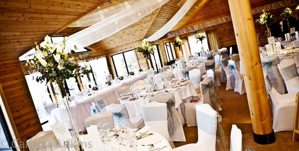 wedding breakfast at The Styal Lodge venue in Cheshire