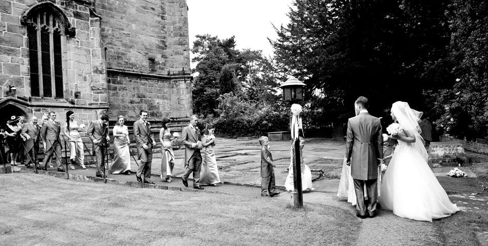 wedding photography gawsworth cheshire