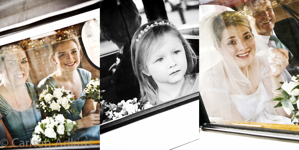 wedding photography of the bride and bridesmaids