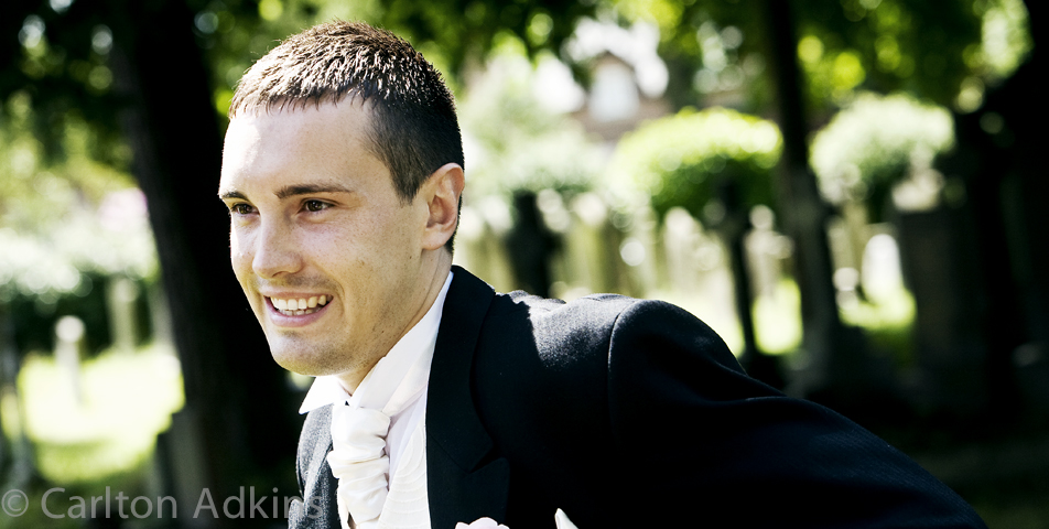 photography of the groom