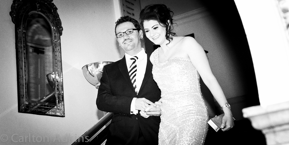 photography of engagement party at The Midland Hotel Manchester