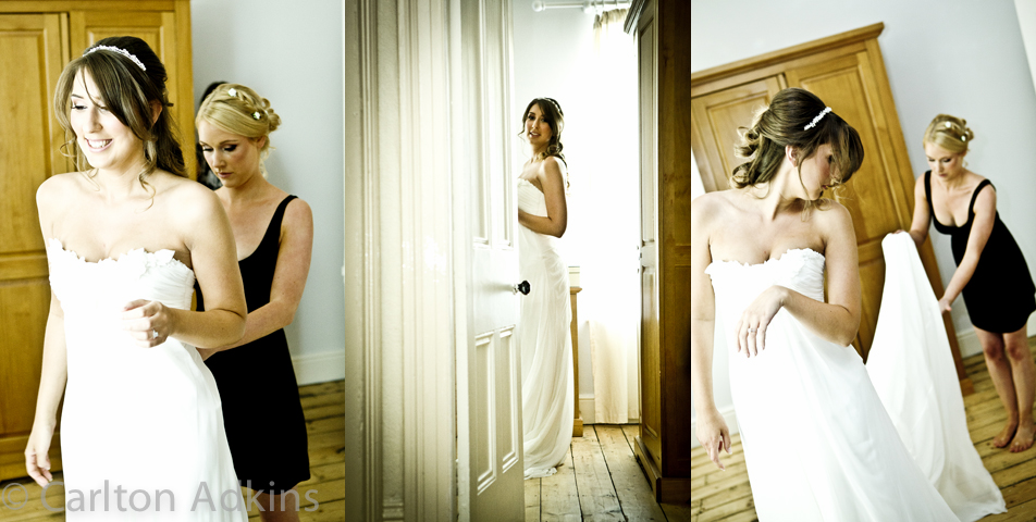 photography of the bride before the ceremony at the Belle Epoque Knutsford Cheshire