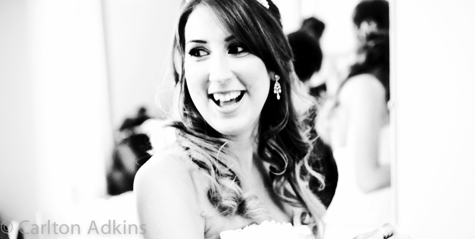 photography of the bride in macclesfield cheshire