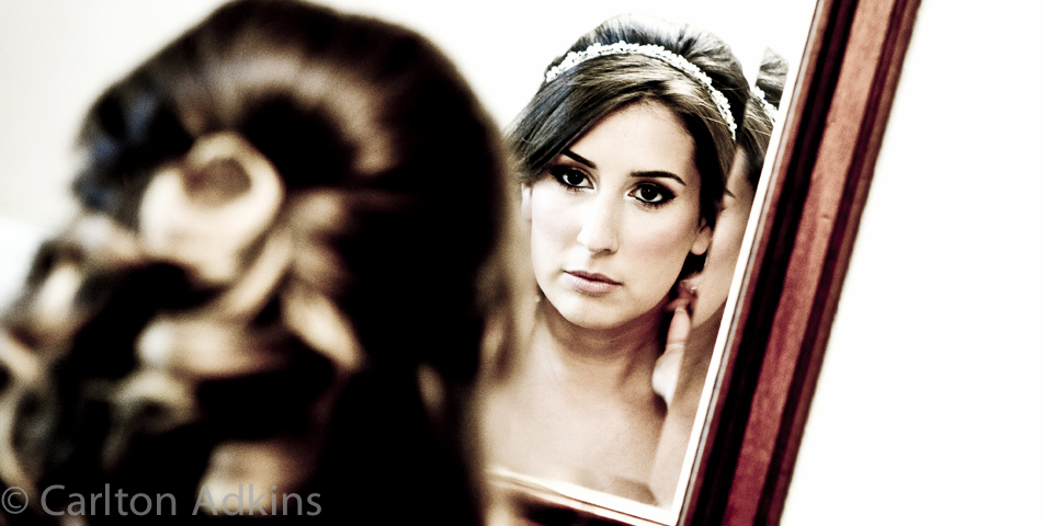 photography of the bride preparing for her cheshire wedding