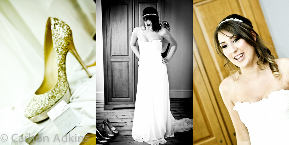 photography of the wedding preparations in knutsford cheshire