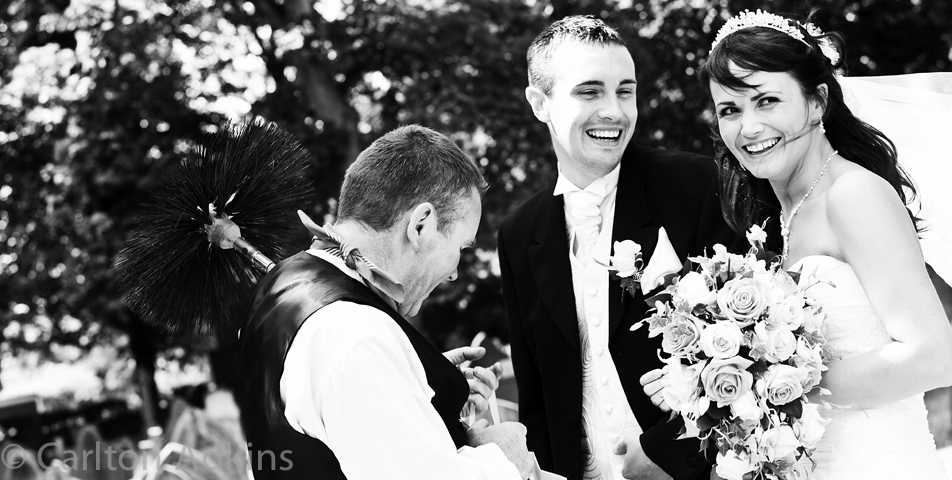 relaxed and informal wedding photography in cheshire