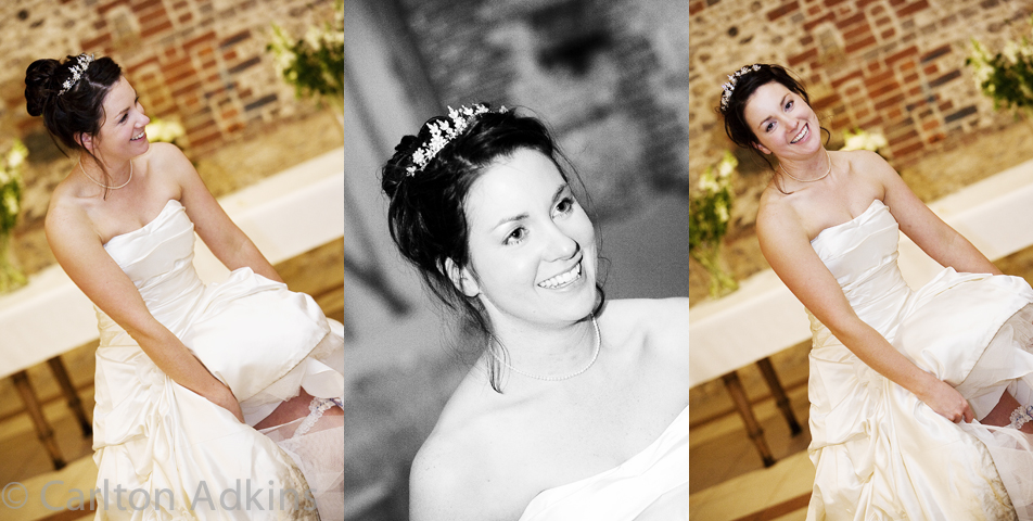photography of the bride after the wedding breakfast