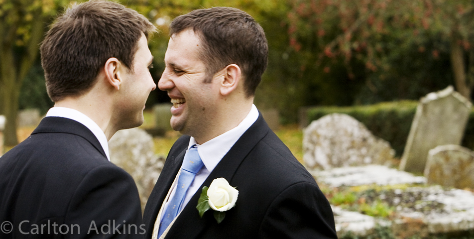 the groom and best man captured by the cheshire wedding photographer