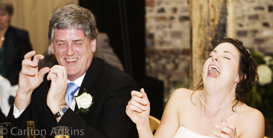 the wedding speeches captured by the cheshire wedding photographer