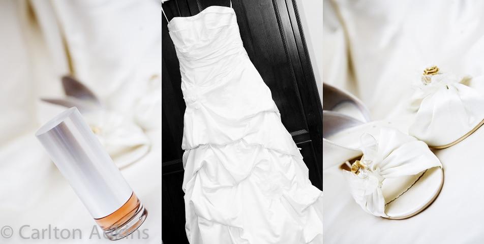 wedding photography of the brides wedding dress